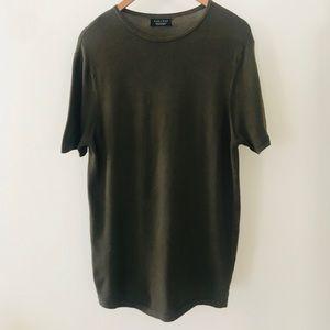 Brown Zara Man Tee - short sleeves